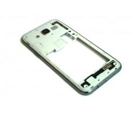 Carcasa marco intermedio para Samsung Galaxy J5 J500 de desmontaje gris