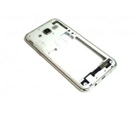 Carcasa marco intermedio para Samsung Galaxy J5 J500 de desmontaje plata
