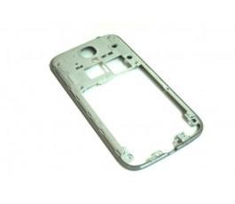 Marco intermedio para Samsung Galaxy S4 GT-I9500 i9505 gris de desmontaje