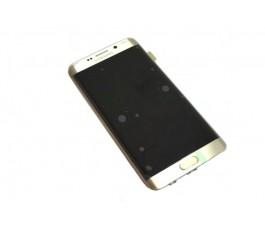 Pantalla completa para Samsung Galaxy S6 Edge Plus G928 dorada