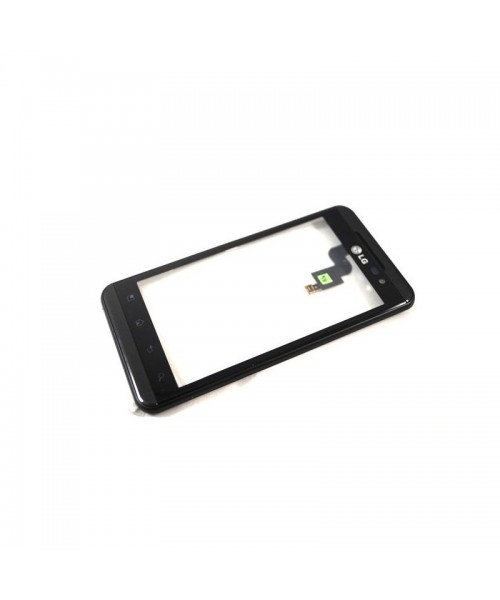 Pantalla Tactil Con Marco para Lg Optimus 3D P920 Negro - Imagen 1