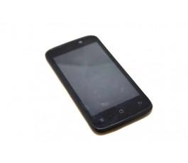 Pantalla completa lcd display tactil y marco para Qilive Q.4812 negra