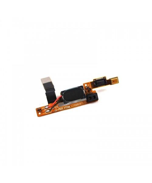 Flex Sensor Proximidad Auricular y Micrófono para Lg Optimus 3D P920 - Imagen 1