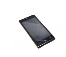 Pantalla completa lcd tactil y marco para Qilive VS459 860060 negra