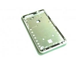 Marco pantalla para Acer Liquid Z520 blanco de desmontaje