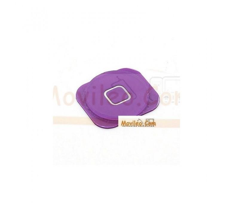 Botón de menú home morado para iphone 5 - Imagen 1