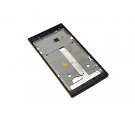 Marco pantalla para ZTE Blade L2 negro libre de desmontaje