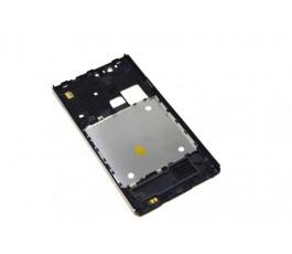 Carcasa intermedia para ZTE Blade L2 Meo Smart A75 negra libre de desmontaje