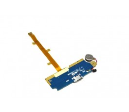 Modulo conector carga vibrador y microfono para ZTE Blade L2 Meo Smart A75 libre de desmontaje