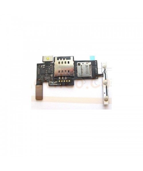 Flex Lector Sim, Micro SD y Volumen para Lg Optimus Black P970 - Imagen 1