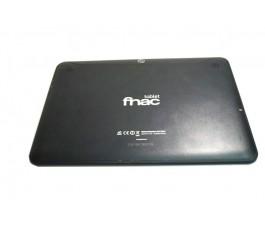 Tapa trasera para Fnac Tablet 3.0 Plus Bq Edison 2 negra