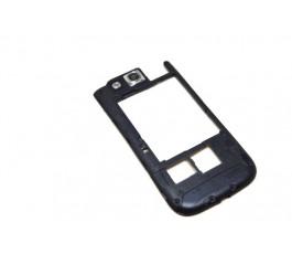 Carcasa intermedia para Samsung Galaxy S3 I9300 negra de desmontaje