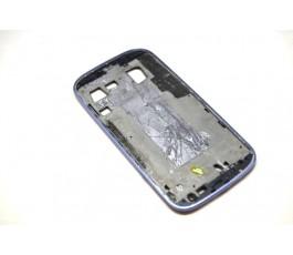 Marco pantalla para Samsung Galaxy S3 I9300 azul de desmontaje