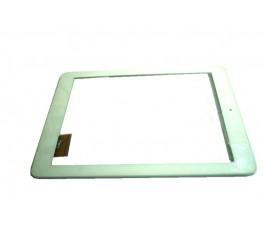 Tantalla tactil con marco para Unusual 10Z blanca