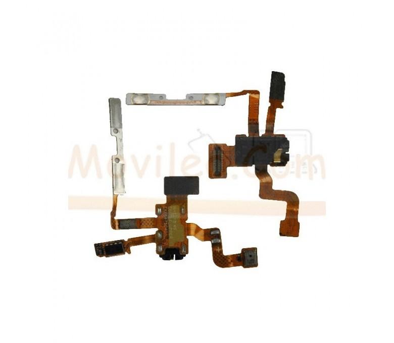 Flex Botones Volumen y Jack para Lg Optimus L5 E610 - Imagen 1