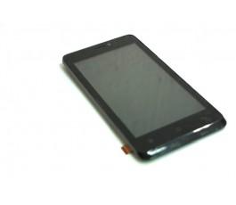 Pantalla completa lcd tactil y marco para Qilive 45 Q.4415 negra