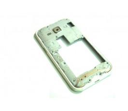 Marco intermedio Samsung Galaxy J1 J100 blanco de desmontaje
