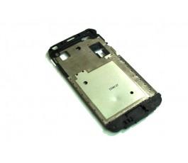 Marco pantalla Samsung Galaxy J1 J100 negro de desmontaje