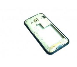 Carcasa intermedia Samsung Galaxy J1 J100 azul de desmontaje