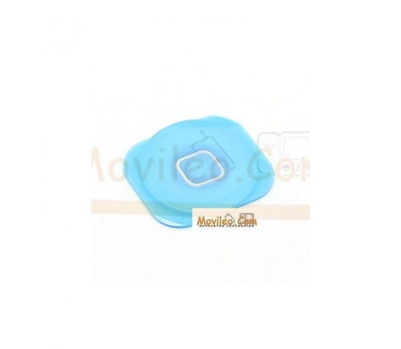 Botón de menú home azul clarito para iphone 5 - Imagen 1