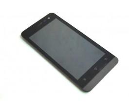 Pantalla completa lcd display tactil y marco para Qilive Q.4725 negra