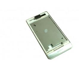 Marco pantalla para Sony Xperia Miro St23i blanco