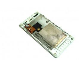 Pantalla completa lcd tactil y marco para Sony Xperia Miro St23i