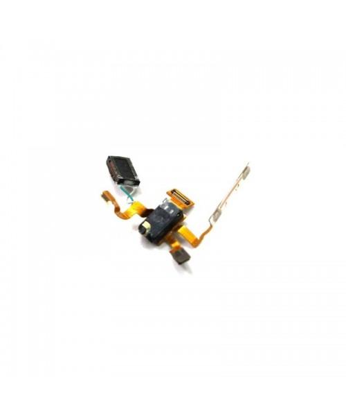 Flex botones volumen auricular y jack para Lg L5 E610 - Imagen 1