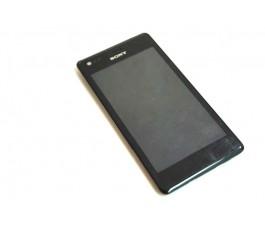 Pantalla completa lcd tactil y marco Sony Xperia M C1904 C1905 de desmontaje