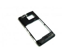Carcasa intermedia Sony Xperia M C1904 C905 negra de desmontaje