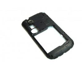 Carcasa intermedia para Zte V793 negra de desmontaje