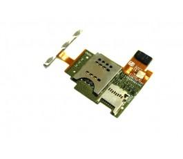 Modulo lector sim sd y botones para Sony Xperia J St26 St26i de desmontaje