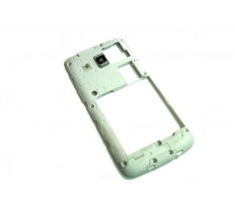 Carcasa intermedia para Samsung Express 2 G3815 blanca de desmontaje