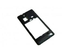 Carcasa intermedia para Qilive MID55Z0 negra de desmontaje