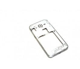 Carcasa intermedia para Samsung Galaxy Core Prime G361F blanca de desmontaje