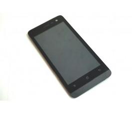 Pantalla completa lcd tactil y marco para Qilive 45 4G Q.4725 negra