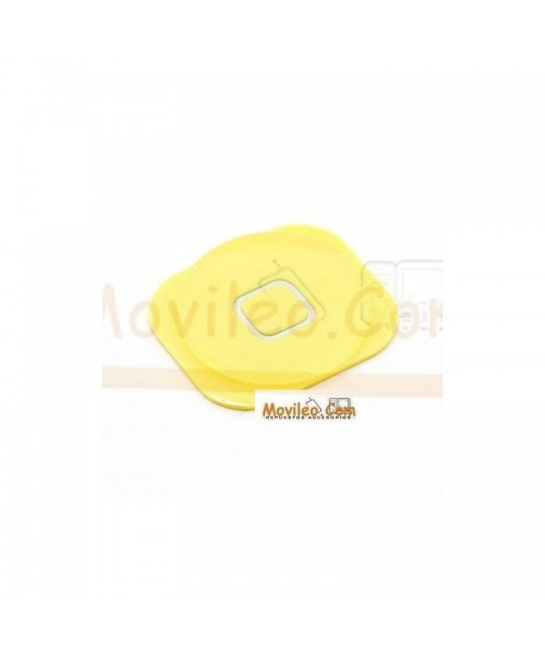 Botón de menú home amarillo para iphone 5 - Imagen 1