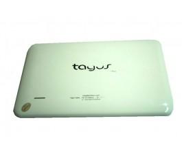 Tapa trasera para Casa del Libro Tagus Tablet blanca