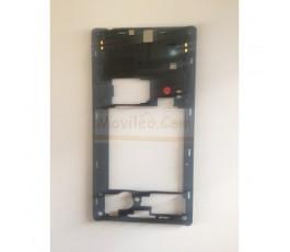 Marco Intermedio Negro para Lg Optimus L9 P760 - Imagen 2