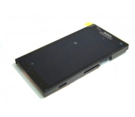 Pantalla completa lcd display tactil y marco Sony Xperia S Lt26i gris
