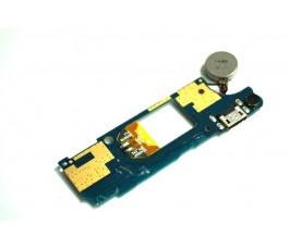 Modulo conector carga y vibrador para Wiko Rainbow Up original