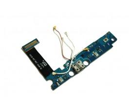 Flex conector carga y antenas Samsung Note Edge N915 original