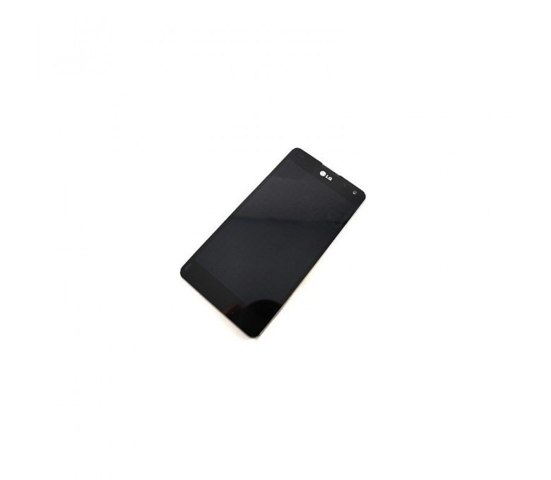 Pantalla Completa Con Marco de Desmontaje para Lg Optimus G 975 Negra - Imagen 1
