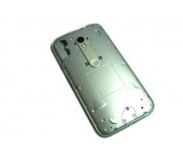 Carcasa intermedia para Motorola Moto G3 XT1540 XT1541 plata original