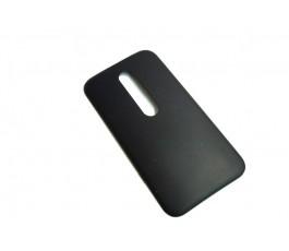 Tapa trasera para Motorola Moto G3 XT1540 XT1541 negra original