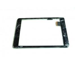 Pantalla tactil con marco para Memup SlidePad Elite 785 negra original