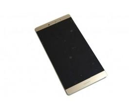 Pantalla completa lcd display y tactil para Huawei Ascend P8 Max dorada