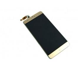 Pantalla completa lcd display y tactil para Zte V7 Max dorada
