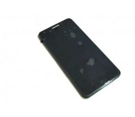 Pantalla completa lcd display tactil y marco para Zte Blade A570 negra