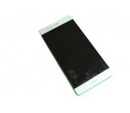 Pantalla completa lcd display y tactil para Huawei P9 blanco